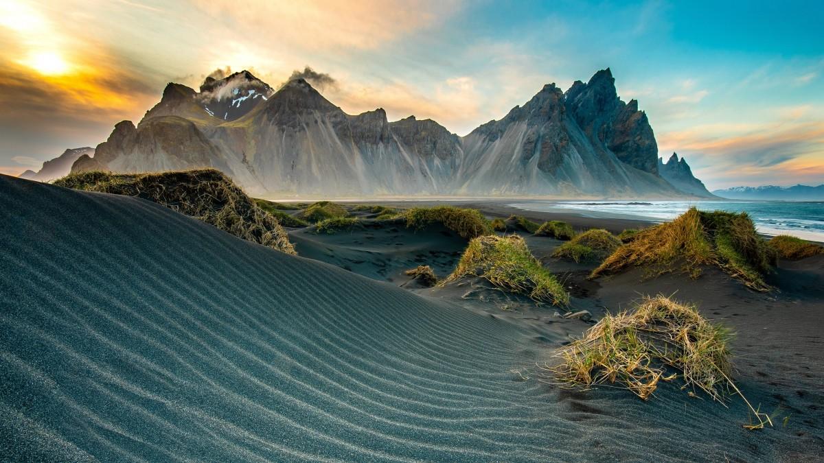 Пазл Собирать пазлы онлайн - Песчаная дюна