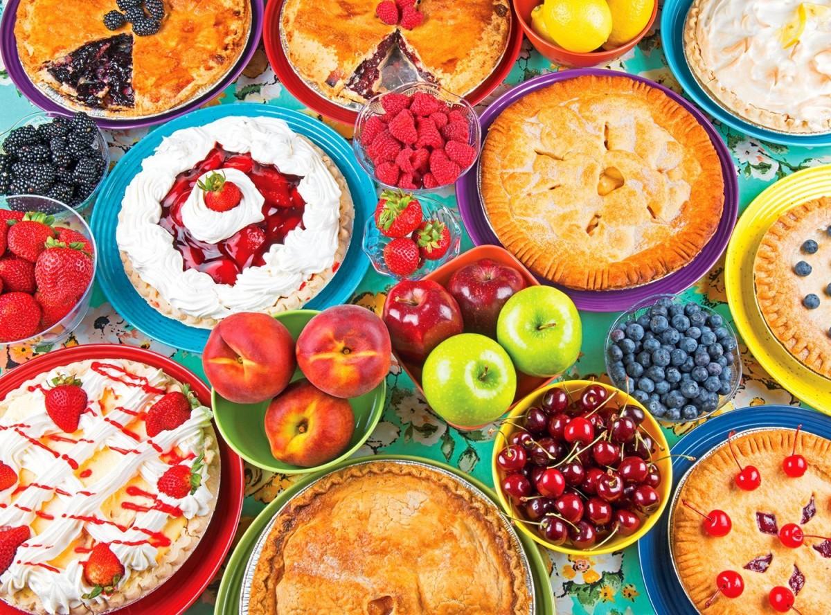Пазл Собирать пазлы онлайн - Пироги