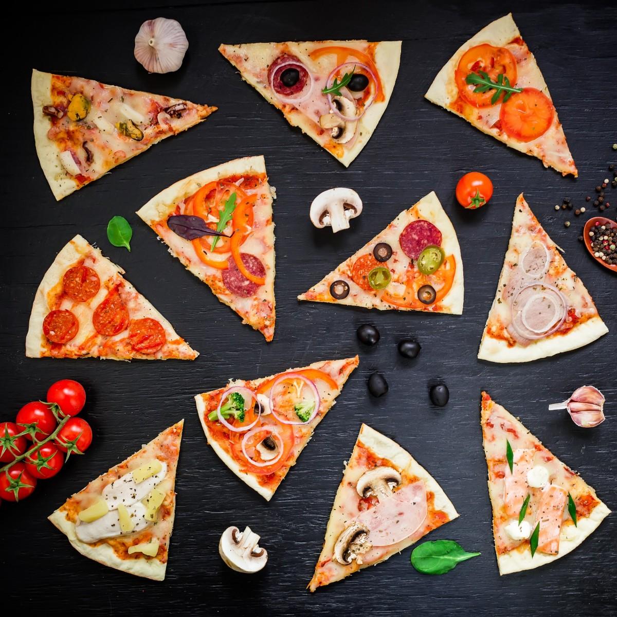 Пазл Собирать пазлы онлайн - Пицца