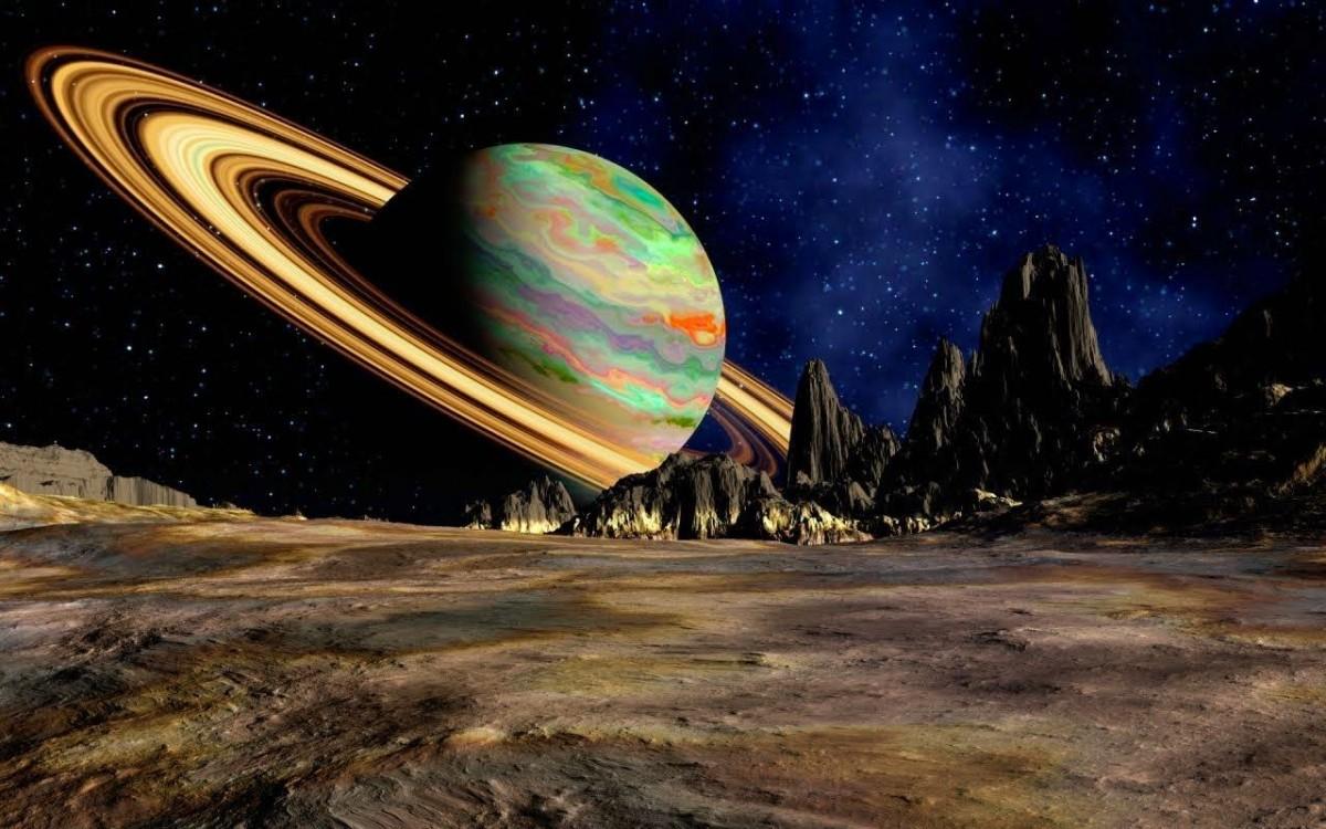 Пазл Собирать пазлы онлайн - Планета Сатурн