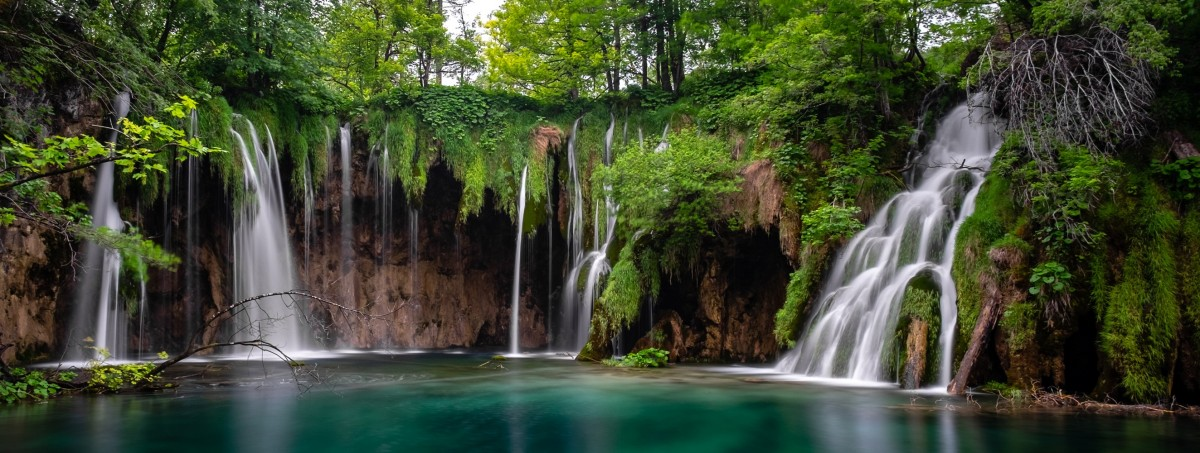 Пазл Собирать пазлы онлайн - Плитвицкие водопады