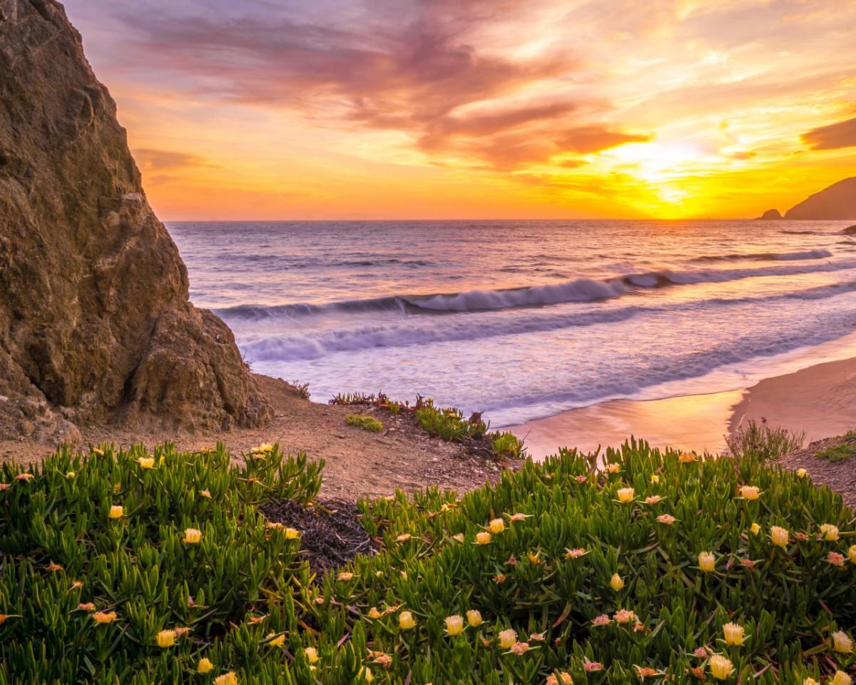 Пазл Собирать пазлы онлайн - Побережье океана