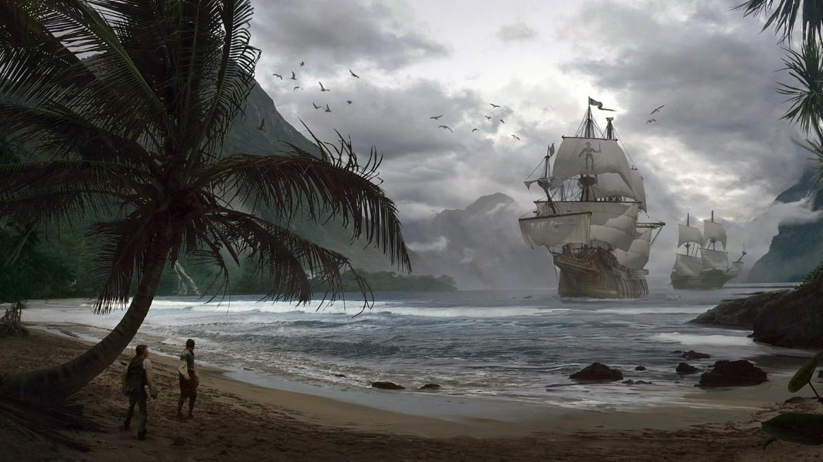 Пазл Собирать пазлы онлайн - Прибытие кораблей