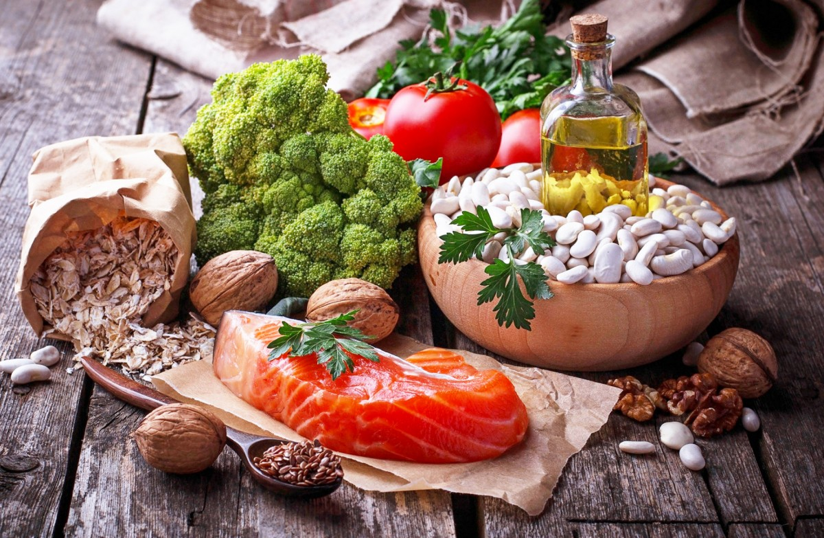 Пазл Собирать пазлы онлайн - Рыба и овощи