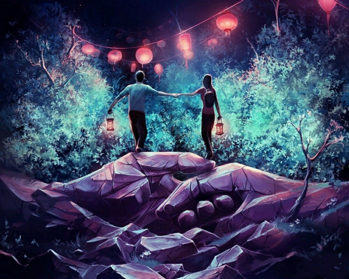 Пазл Собирать пазлы онлайн - Романтический вечер