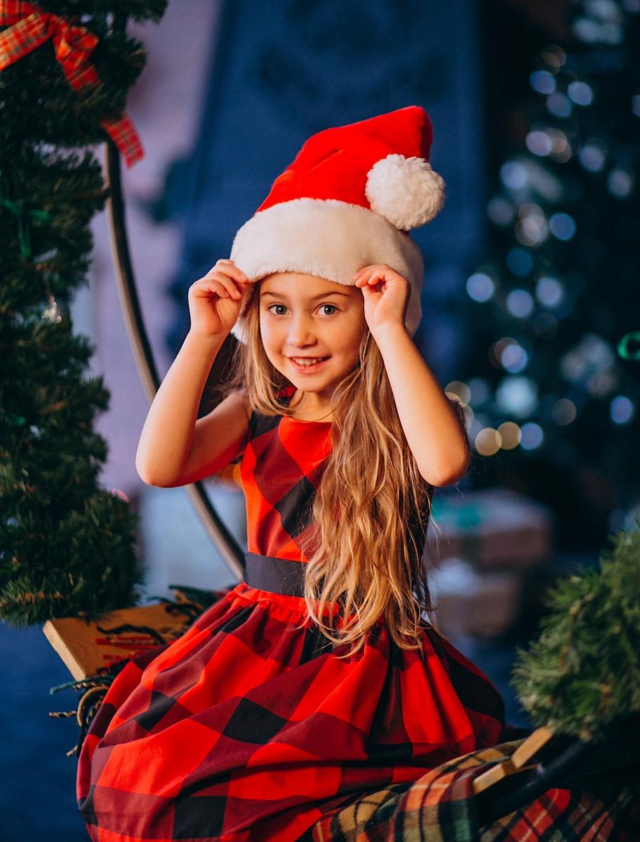 Пазл Собирать пазлы онлайн - Рождественская примерка