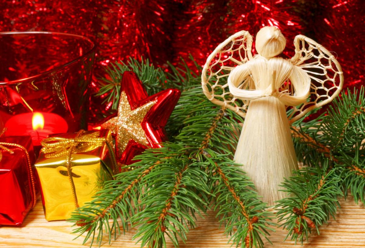 Пазл Собирать пазлы онлайн - Рождественский ангел