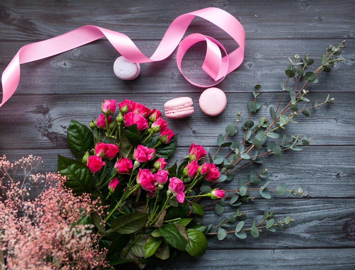 Пазл Собирать пазлы онлайн - Розовая лента
