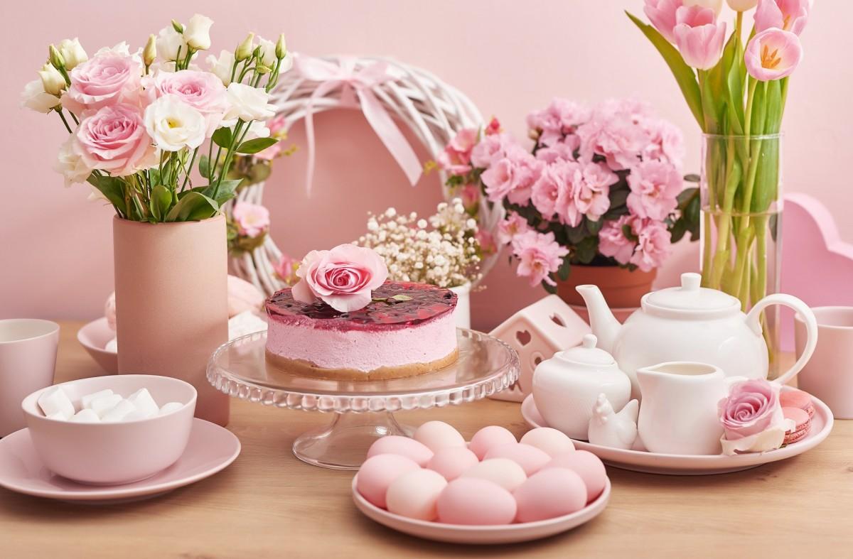 Пазл Собирать пазлы онлайн - Розовая Пасха