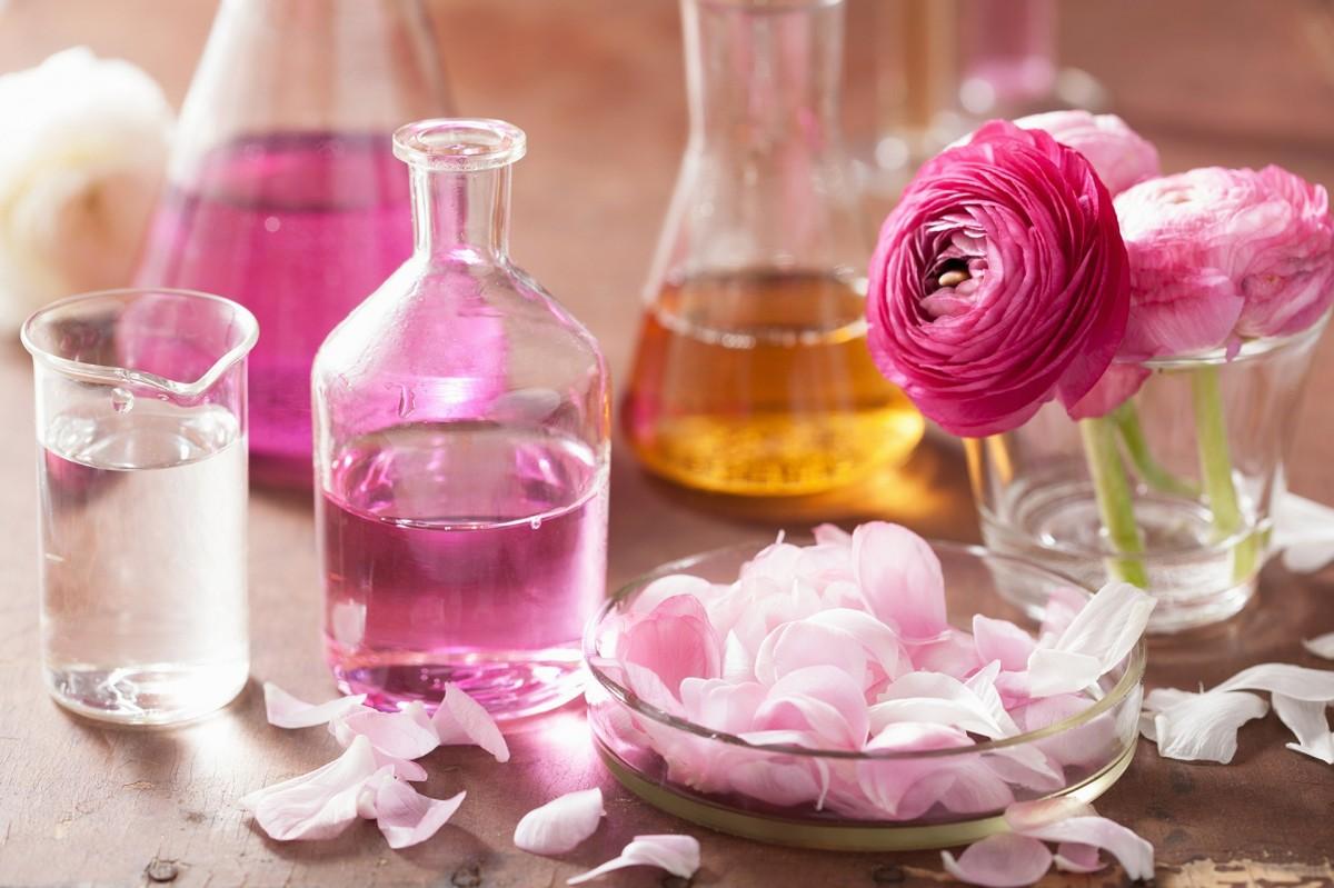 Пазл Собирать пазлы онлайн - Розовое масло