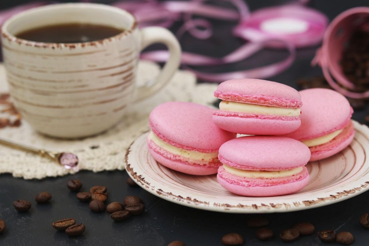 Пазл Собирать пазлы онлайн - Розовое печенье