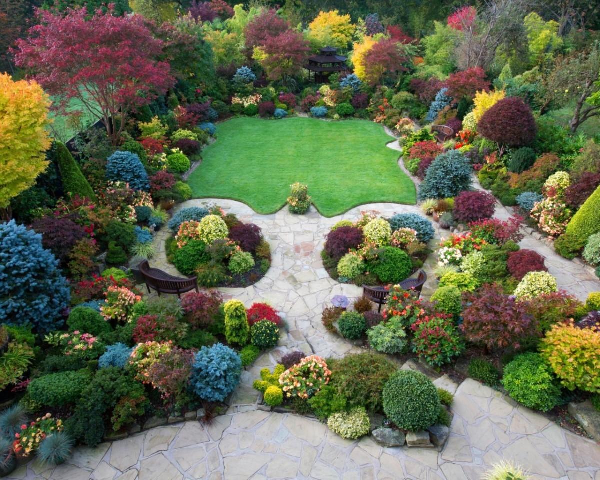 Пазл Собирать пазлы онлайн - Сад Walsall в Англии