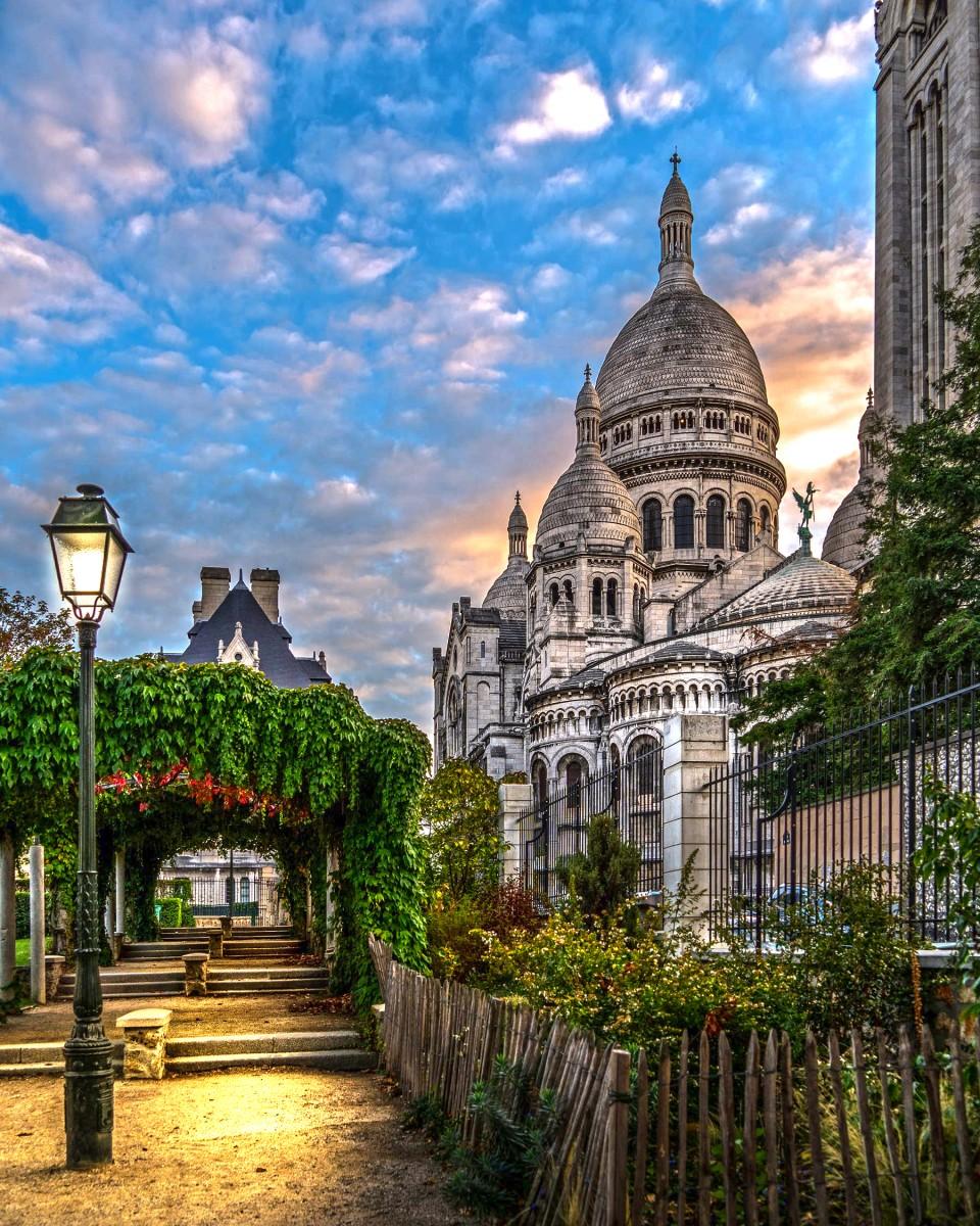 Пазл Собирать пазлы онлайн - Сакре Кёр Париж