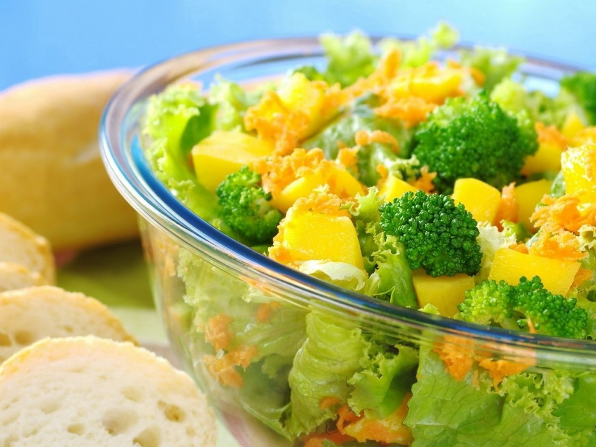 Пазл Собирать пазлы онлайн - салат