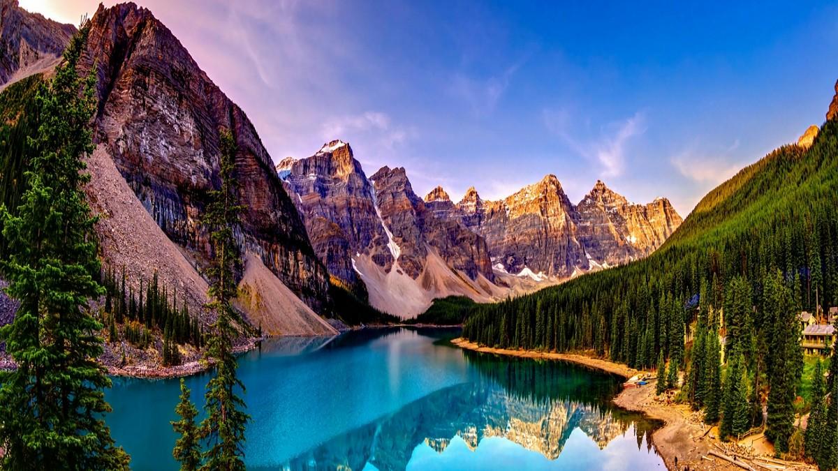 Пазл Собирать пазлы онлайн - Самоцветные горы