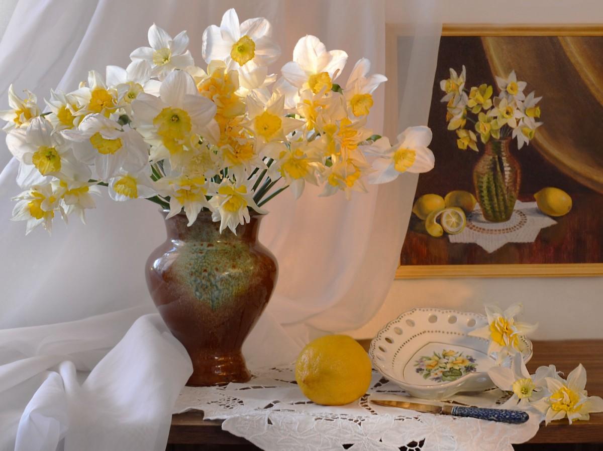 Пазл Собирать пазлы онлайн - Самовлюблённые цветы