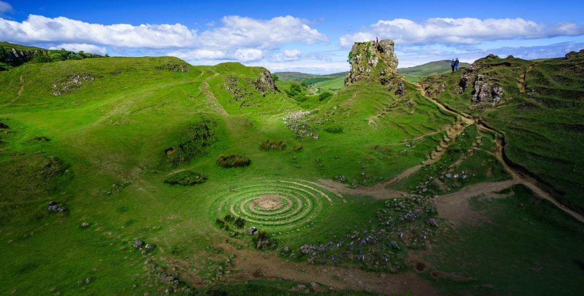 Пазл Собирать пазлы онлайн - Шотландия