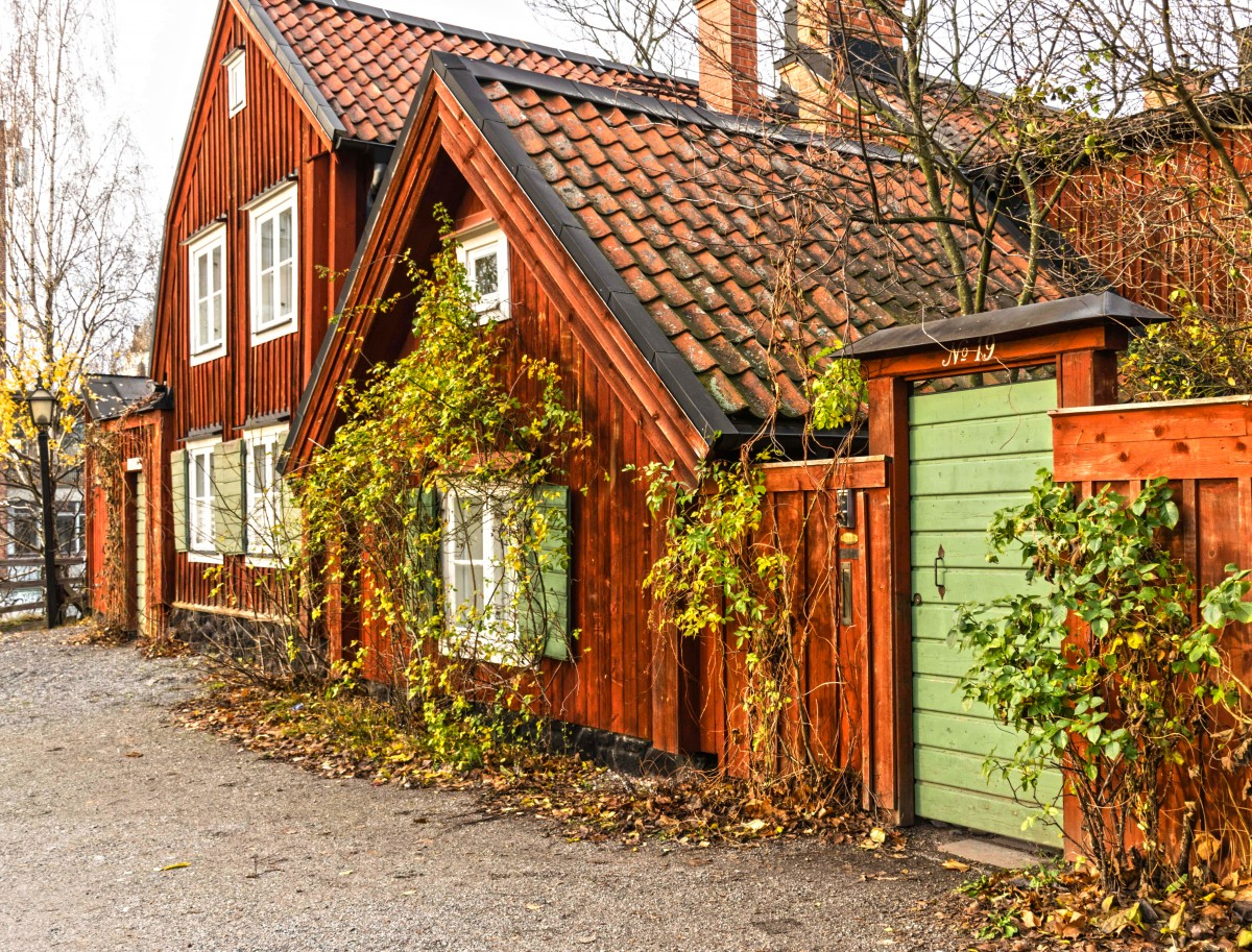 Пазл Собирать пазлы онлайн - Шведский дом