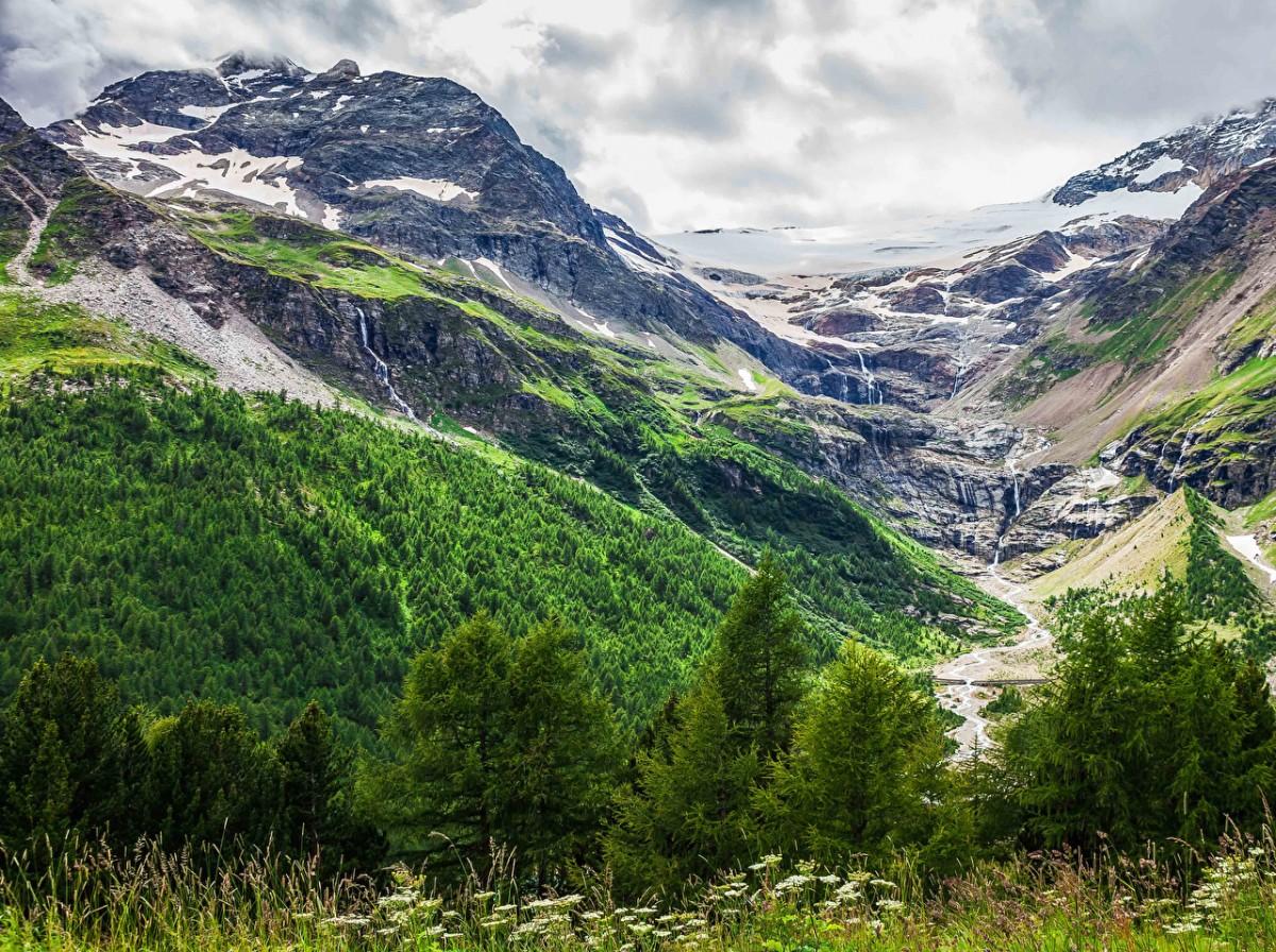 Пазл Собирать пазлы онлайн - Швейцарские Альпы