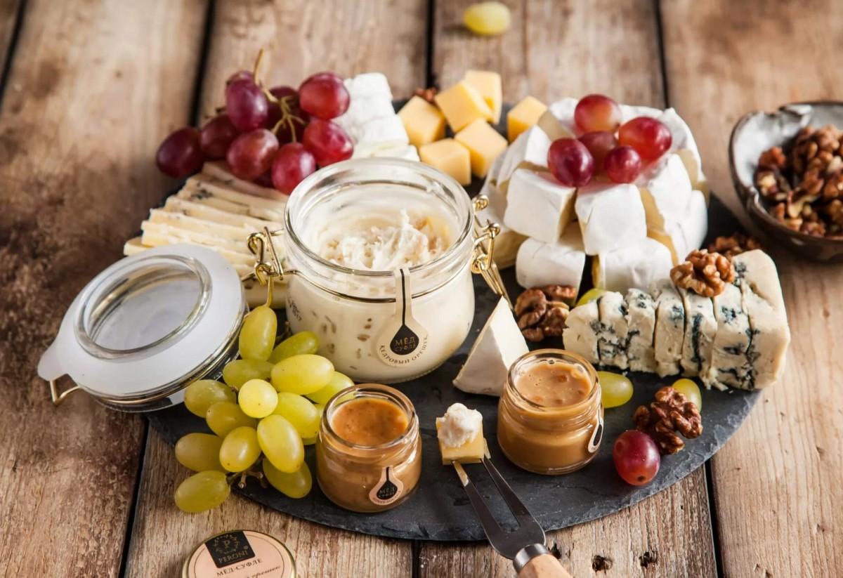 Пазл Сыр и мёд