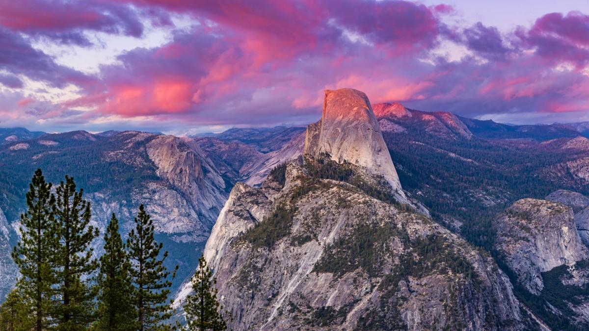 Пазл Собирать пазлы онлайн - Скала в Йосемити