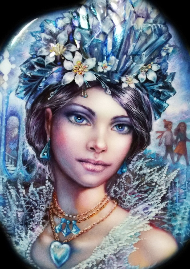 Пазл Собирать пазлы онлайн - Снежная Королева