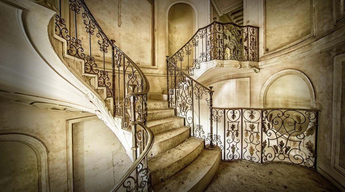 Пазл Собирать пазлы онлайн - Старая лестница