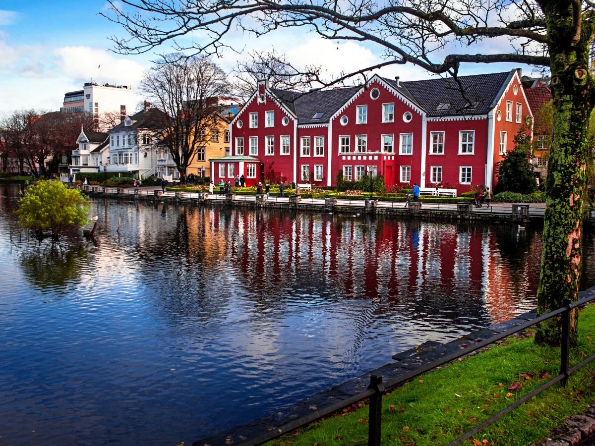 Пазл Собирать пазлы онлайн - Ставангер Норвегия