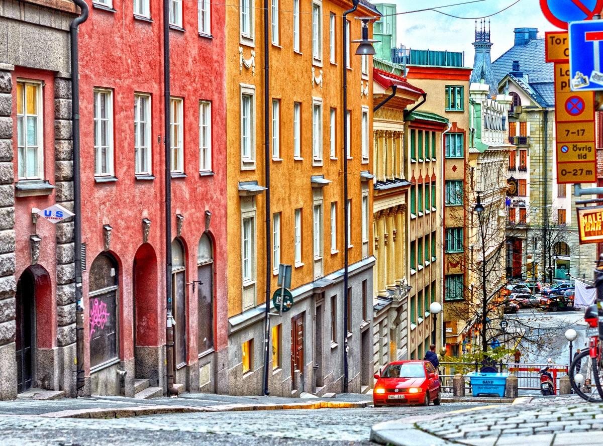 Пазл Собирать пазлы онлайн - Стокгольм Швеция