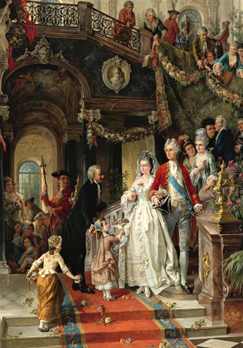Пазл Собирать пазлы онлайн - Свадьба