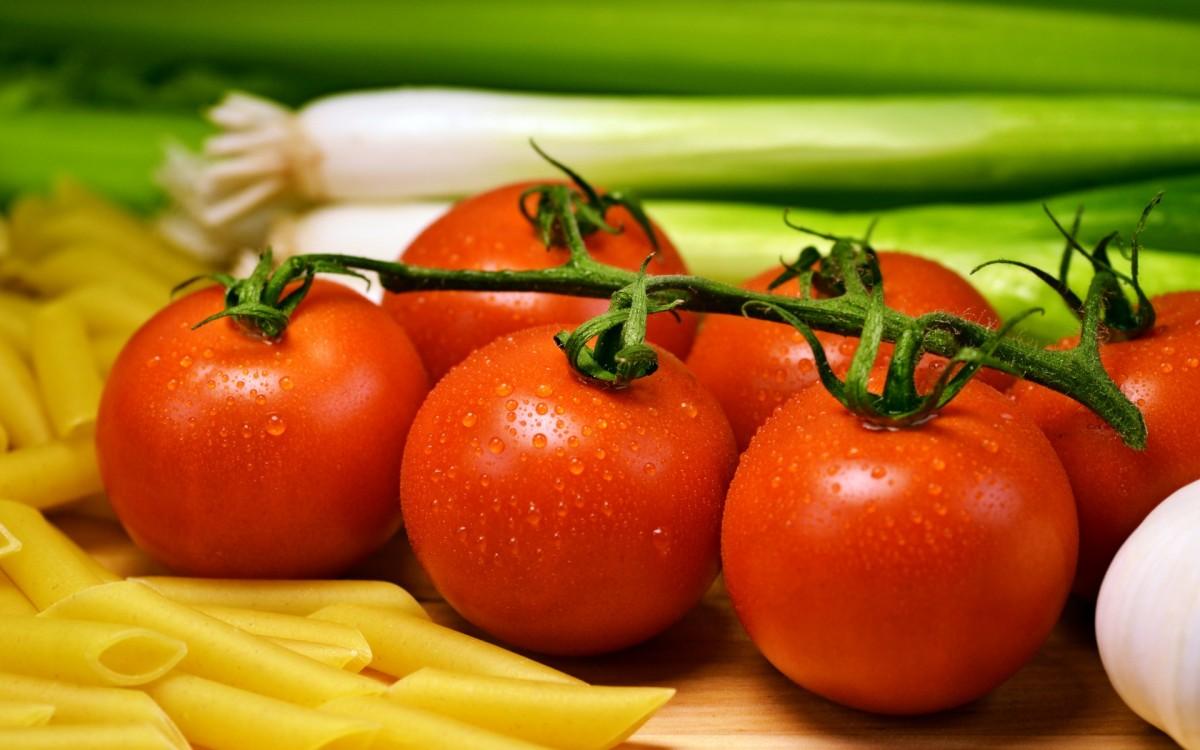 Пазл Свежие томаты
