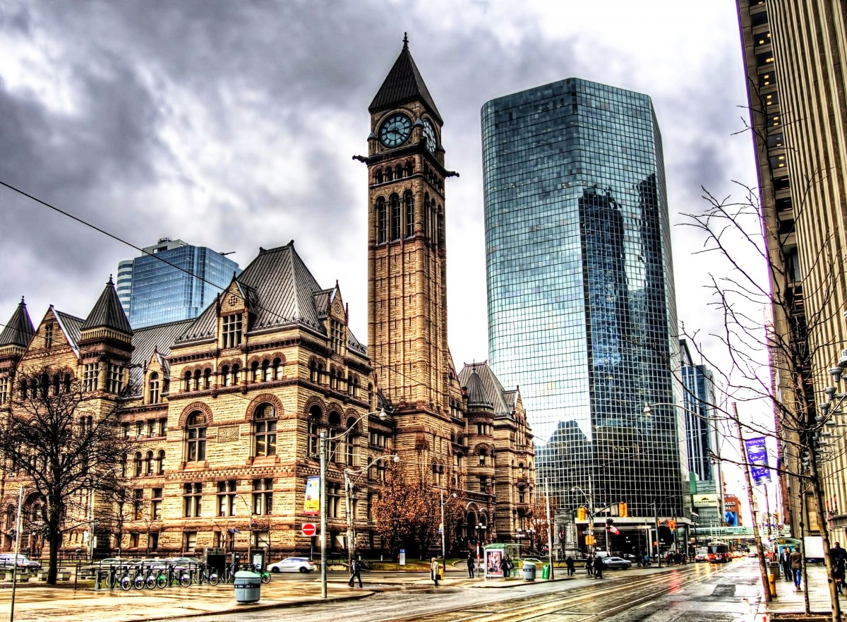 Пазл Собирать пазлы онлайн - Торонто Канада