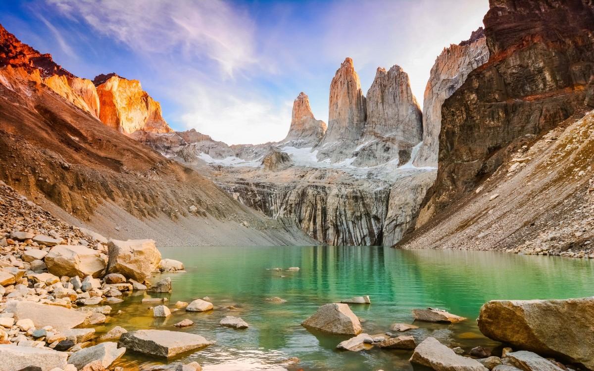 Пазл Собирать пазлы онлайн - Torres del Paine