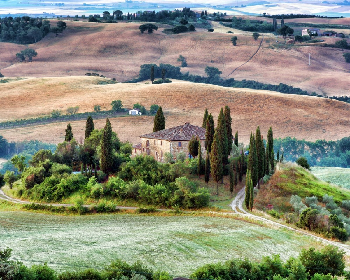 Пазл Собирать пазлы онлайн - Тоскана
