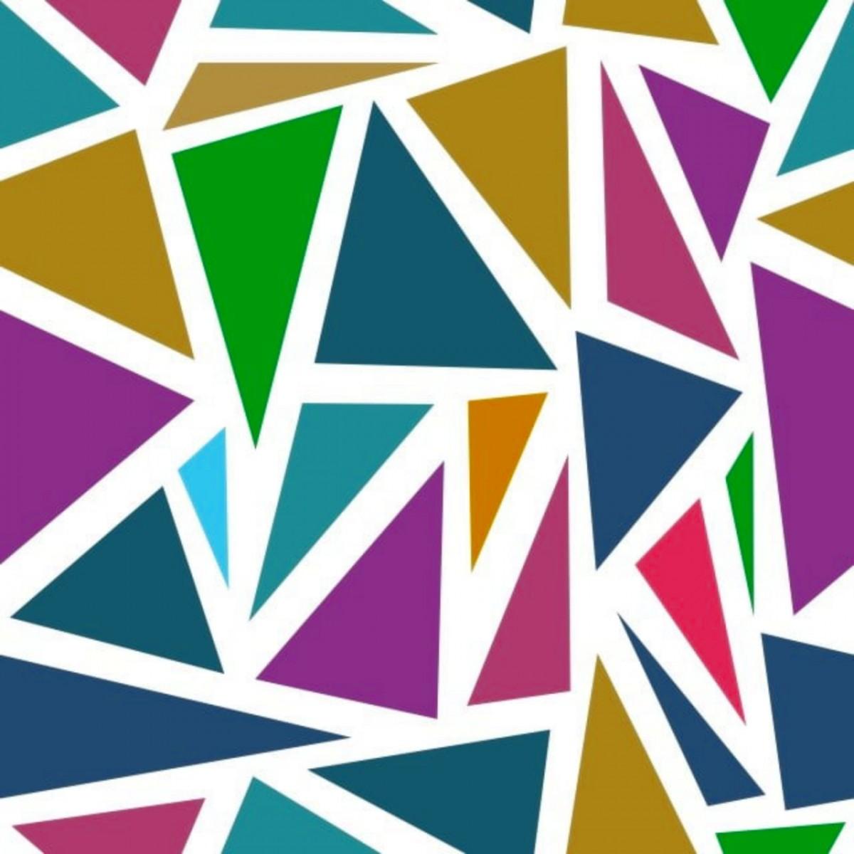Пазл Собирать пазлы онлайн - Треугольники