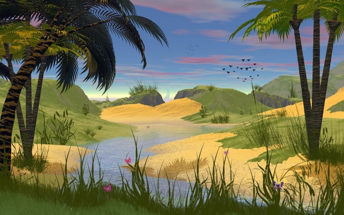 Пазл Собирать пазлы онлайн - Тропики
