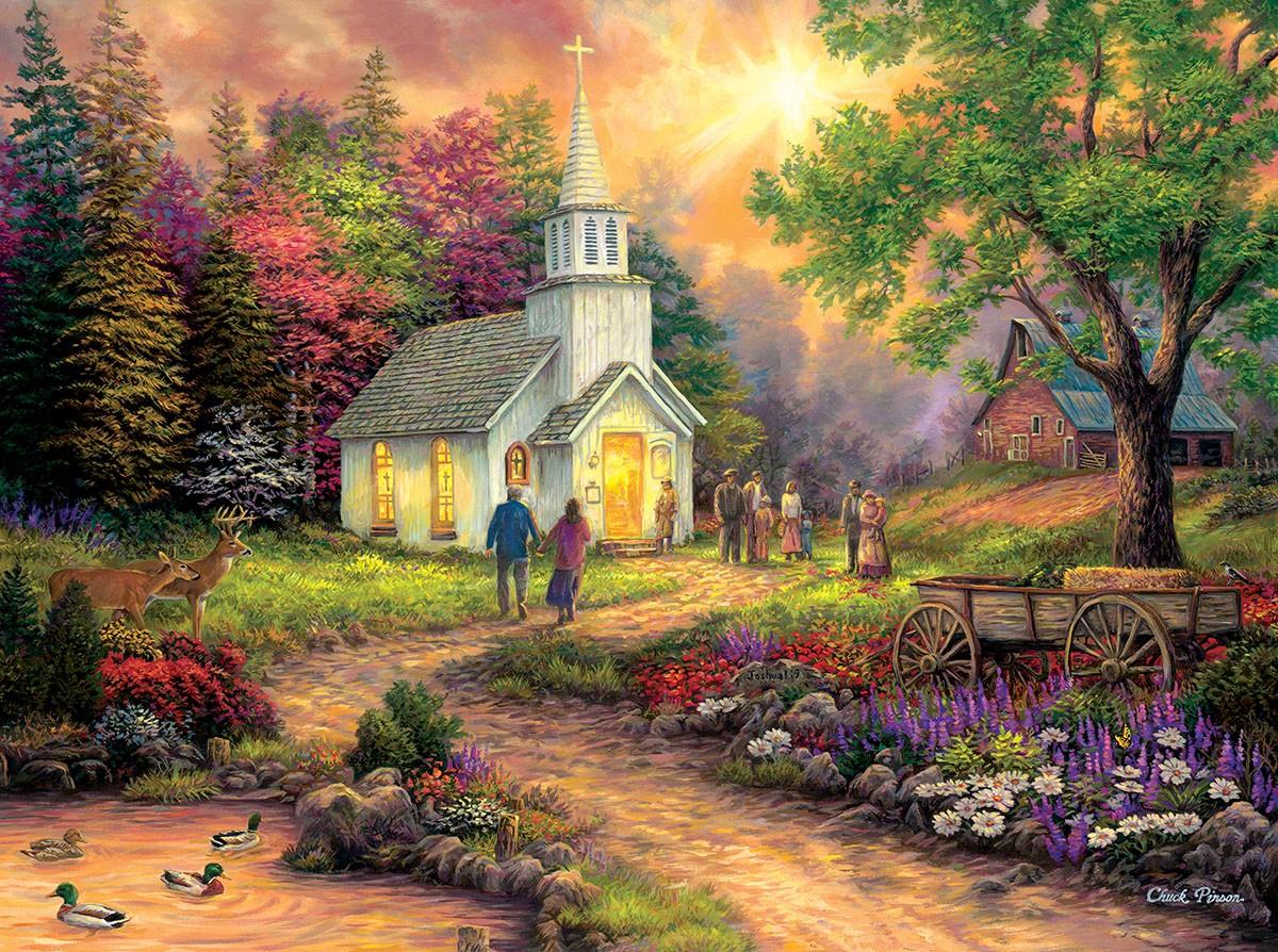 Пазл Собирать пазлы онлайн - Церковь