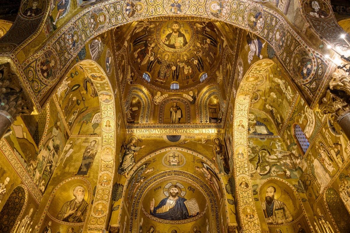 Пазл Собирать пазлы онлайн - Церковь на Сицилии