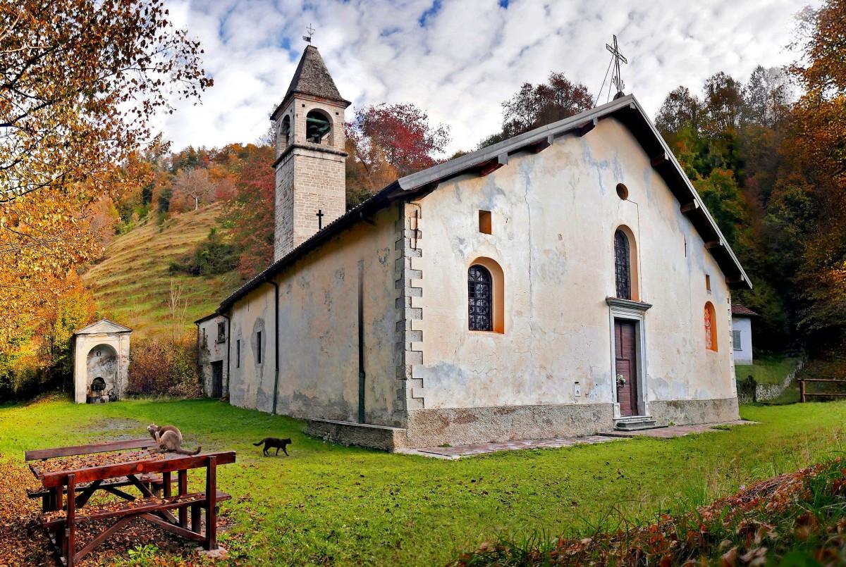 Пазл Собирать пазлы онлайн - Церковь в Ломбардии