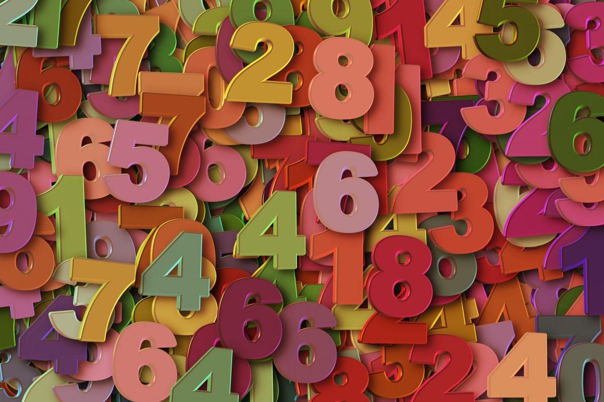 Пазл Собирать пазлы онлайн - Цифры