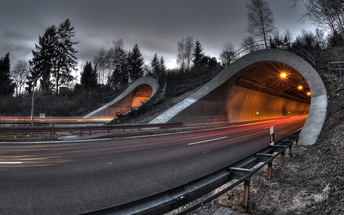 Пазл Собирать пазлы онлайн - Туннель