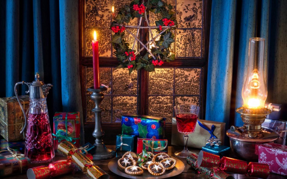 Пазл Собирать пазлы онлайн - Угощение к Рождеству