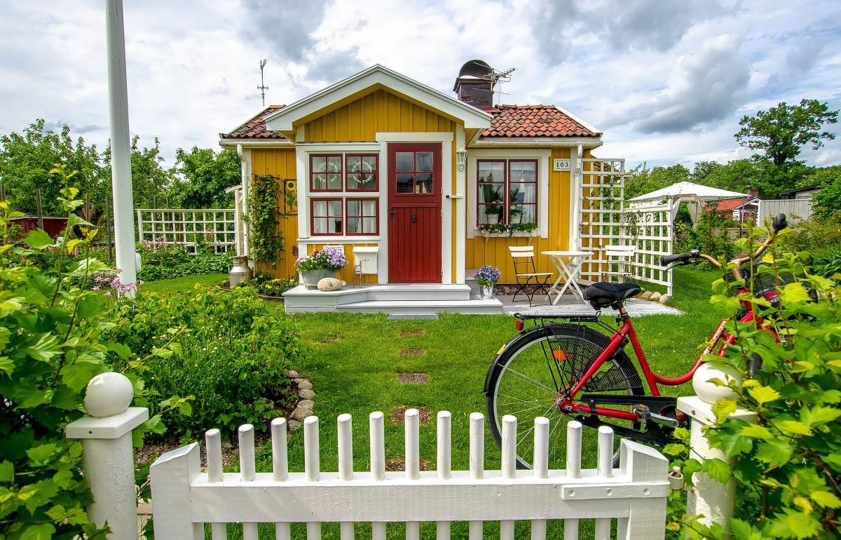 Пазл Собирать пазлы онлайн - Уютный домик
