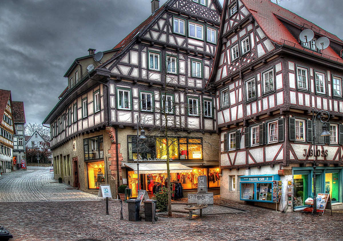 Пазл Собирать пазлы онлайн - Вайблинген Германия