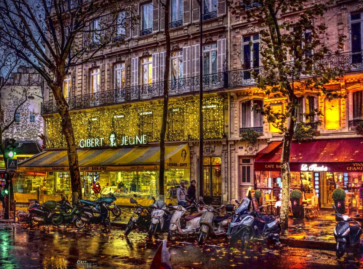 Пазл Собирать пазлы онлайн - Вечерний Париж