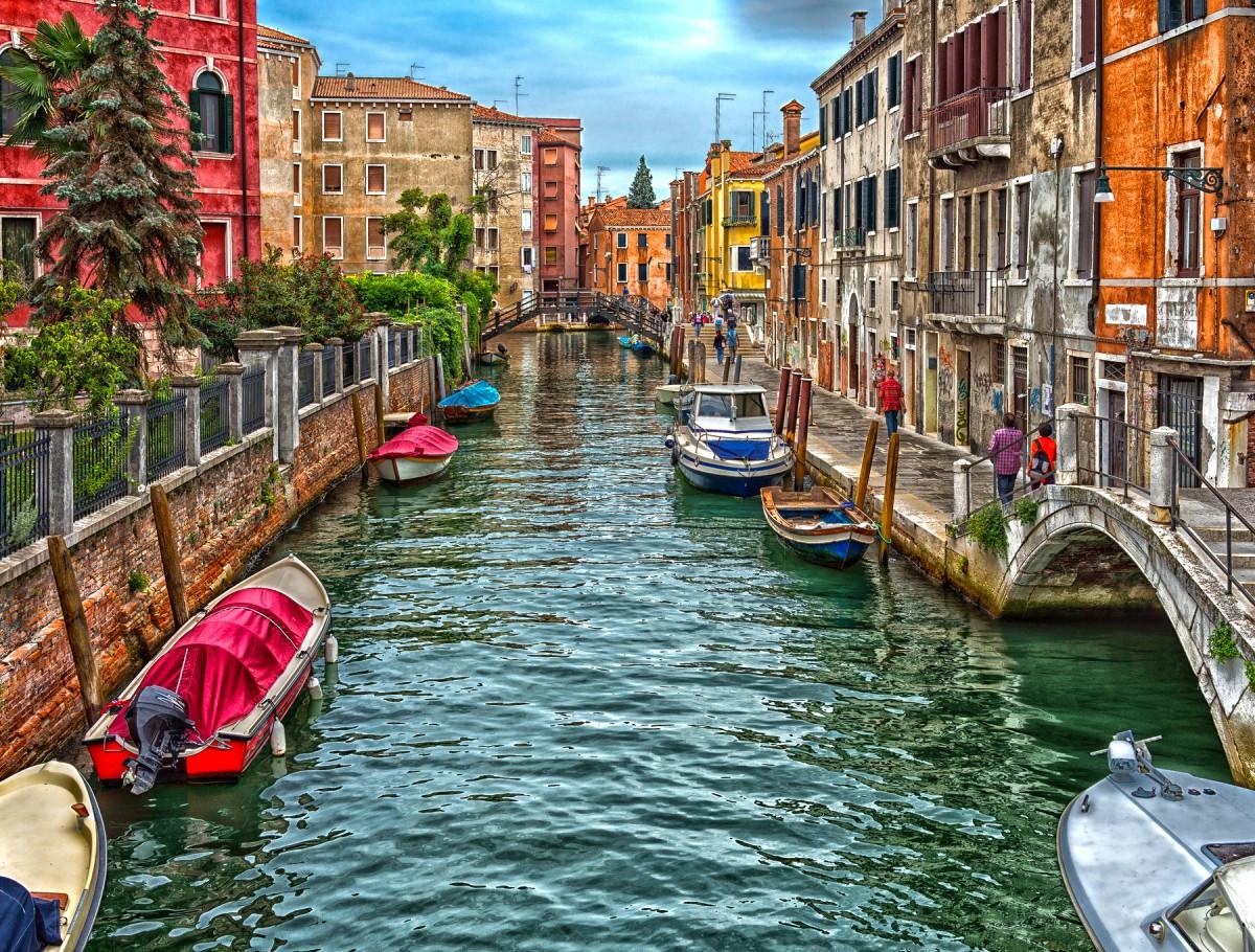 Пазл Собирать пазлы онлайн - Венеция Италия