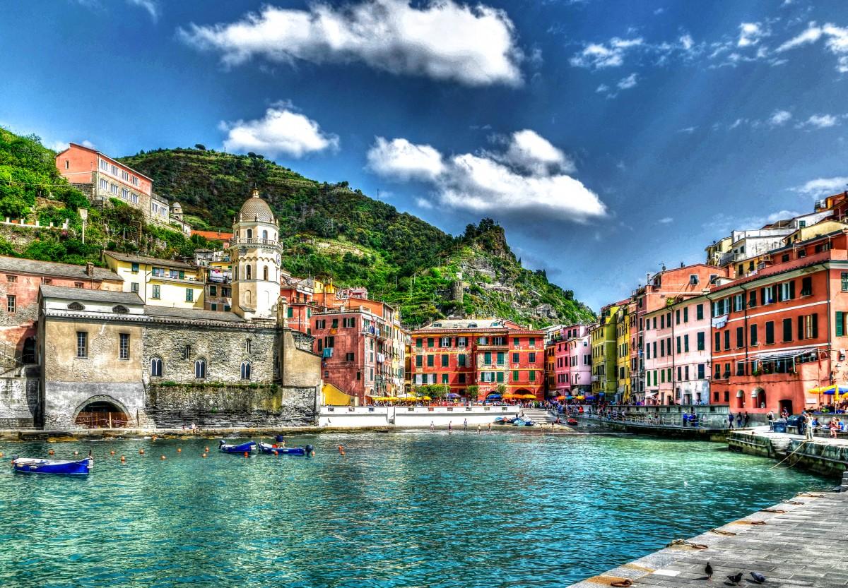 Пазл Собирать пазлы онлайн - Вернацца Италия