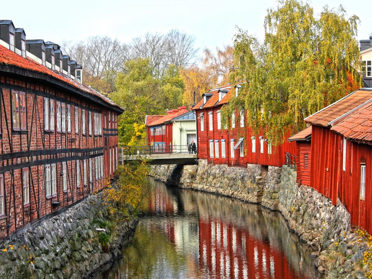 Пазл Собирать пазлы онлайн - Вестерос Швеция