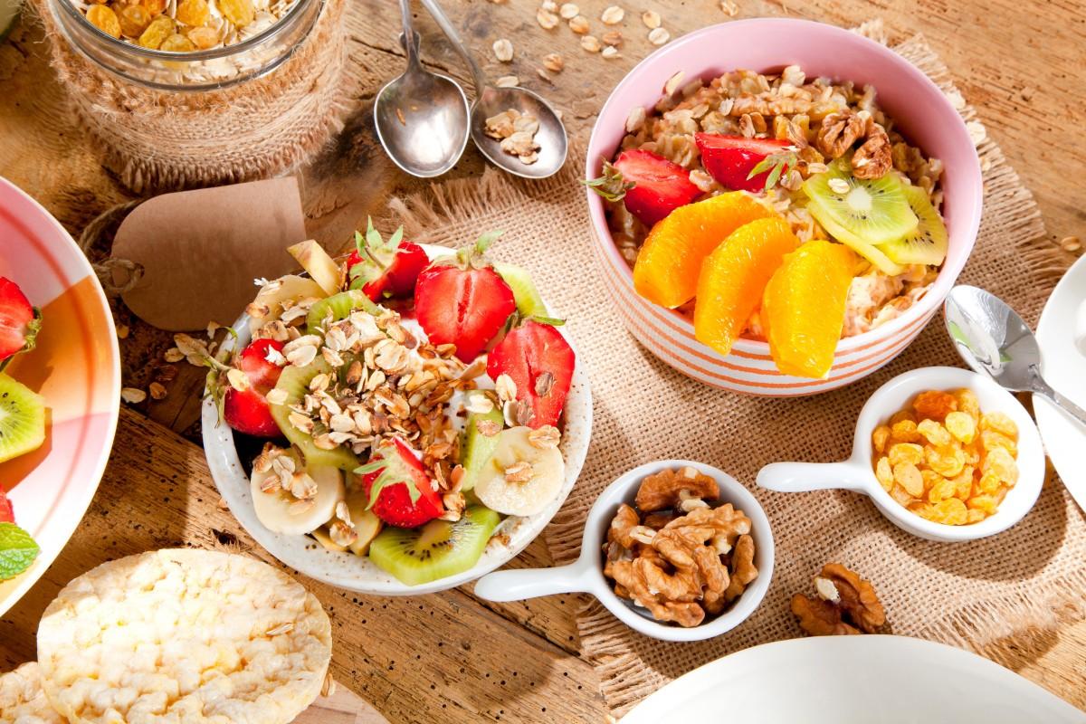 Пазл Собирать пазлы онлайн - Вкусное на завтрак