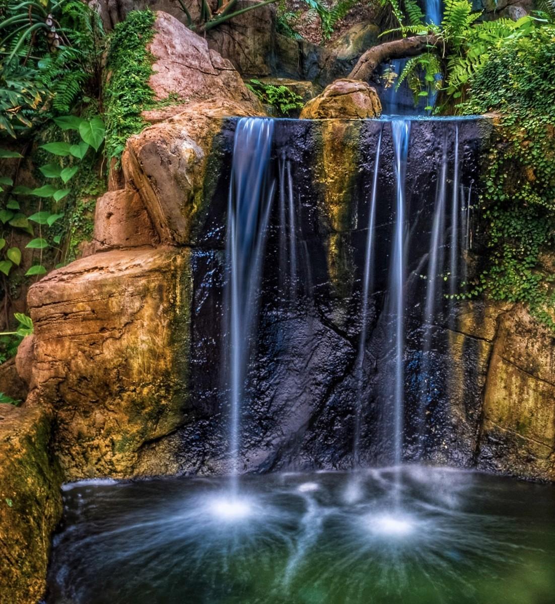 Пазл Водопад